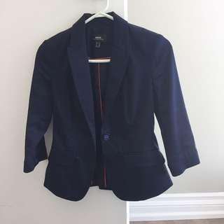 Mexx blazer size 2 (xs) in navy