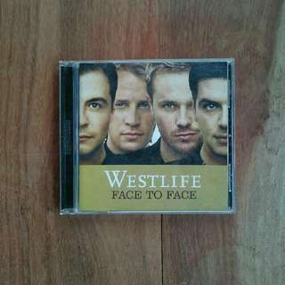 Kaset CD Westlife face to face