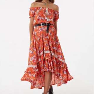 Spell and the Gypsy Collective Revolver off the shoulder dress