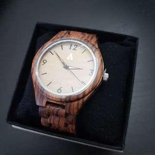 Treehut All Zebrawood Nova Watch