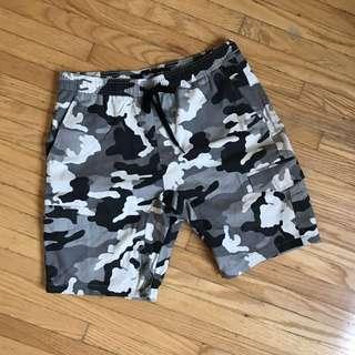 Mens camo shorts