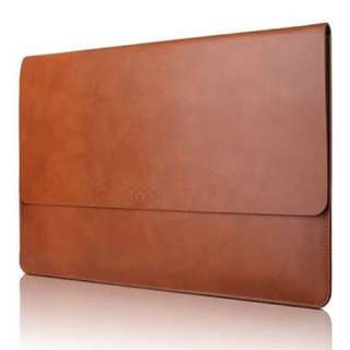 "Lenovo 14"" Genuine Leather Laptop Sleeve"