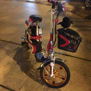 Good condition Electric bike condition battery 90% ok