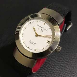 Vintage IWC Porsche Design Titanium Watch