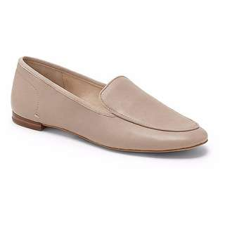 VINCE CAMUTO SIGNATURE – NUDE LEATHER ELISS LOAFERS (SIZE 7.5M) BRAND NEW