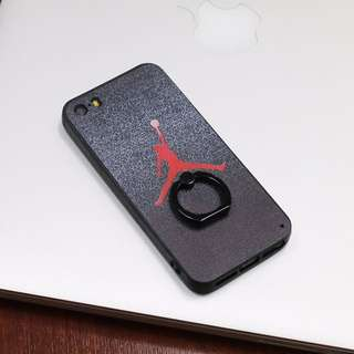 Printed case with ring