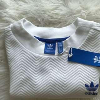 Adidas women's  crop sweater