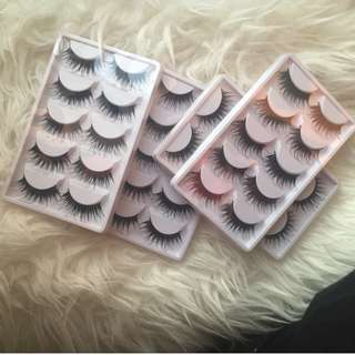 Brand New Set of 5 Lashes