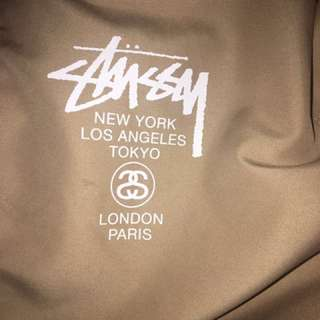 Stussy Two Cities windbreaker **RARE**