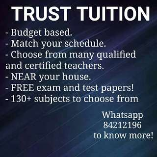 Looking for budget tution?