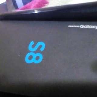 64GB Unlocked Slightly used Samsung Galaxy S8 with boc