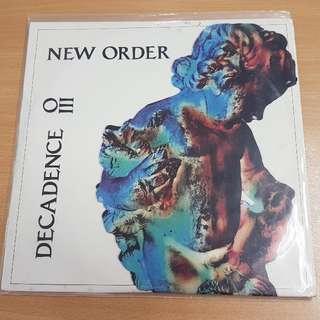 New Order Decadence Live Double LP Vinyl LP Original Pressing Rare