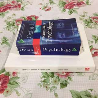Understanding Psychology Textbook + Dictionary of Psychology