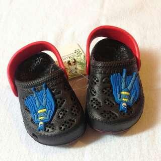 Batman Crocs Inspired Baby Shoes