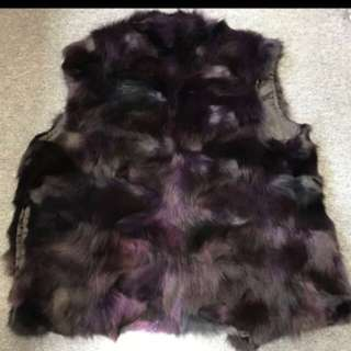 😻100% Rabbit 🐰 Fur Vest