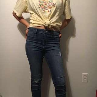 Pale yellow Florida shirt