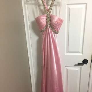 Pink Prom Dress (Night Moves)