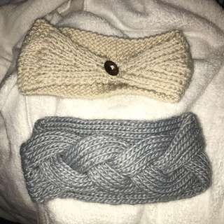 Knit headwraps