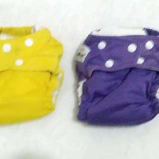 Cloth Diapers / Clodi Fuzzy BunZ