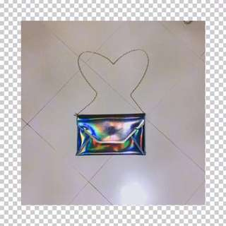 holographic clutch/bag