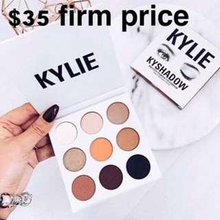 Kyshadow the bronze palette Kylie cosmetics