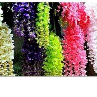 Wisteria flower decor