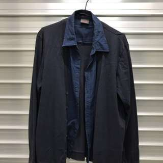 Men Long Sleeve/Double Layered Shirt/Sweater (ESPRIT)