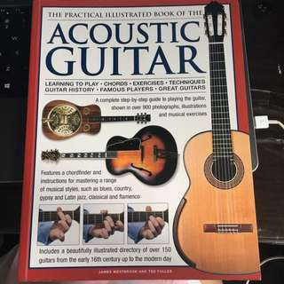 Practical illustrated book of Acoustic Guitar