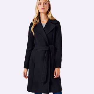 Wrap coat size 10