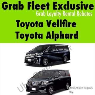Good Condition Toyota Alphard/Vellfire for Grab