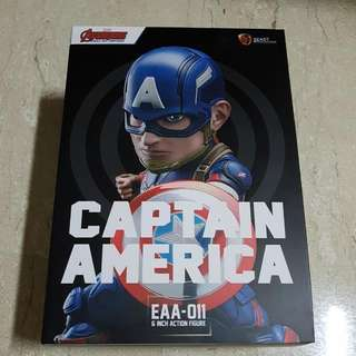 Selling Marvel Toy Brand New Sealed Captain America EAA-011