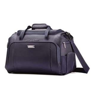d276c3bc32 Samsonite Silhouette XV Softside Boarding Bag Holiday Travel Navy Blue  Luggage Duffel Cabin Bag Airplane Plane