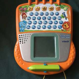 👏🏻REPRICED👏🏻Vtech Write & Learn Touch Tablet