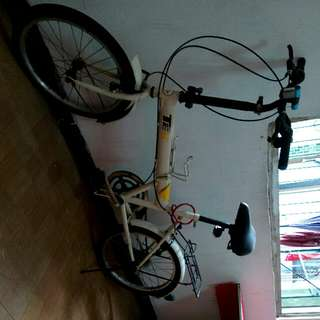 摺疊式變速腳踏車