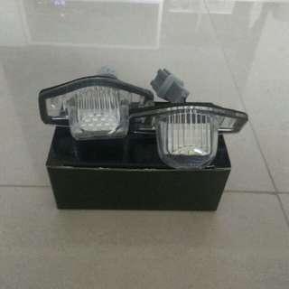 Fit /Jazz GE6 GE8 licence plate light.