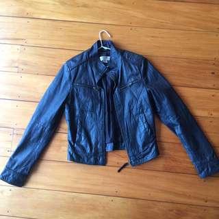 Leather (genuine) Jacket