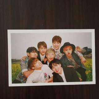 BTS In The Mood For Love pt 1 Group Photocard