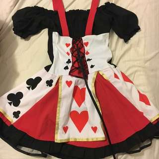 Queen Of Heart Costume