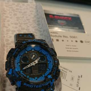 全新G-Shock特別版