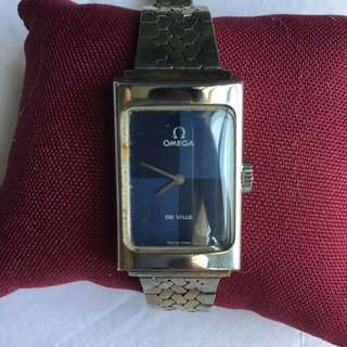 Rare Vintage Ladies Two-Toned Omega DeVille