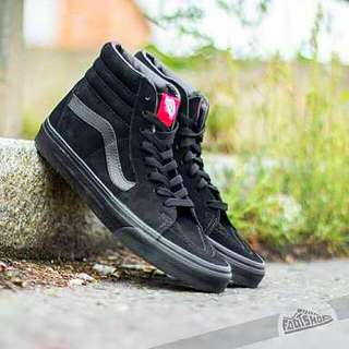 Vans Sk8-Hi Full Black ORIGINAL