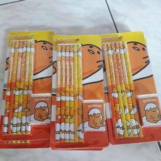蛋黃哥木頭鉛筆組#十二月良品半價