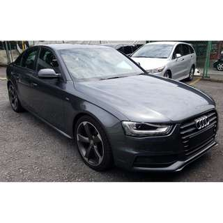 AUDI A4 2.0 TFSI BLACK EDITION B&O AUDIO FACELIFT (A) OFFER UNREG 2012