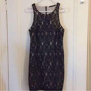 Portmans Black Lace Dress