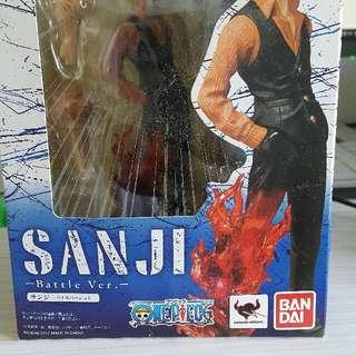 Bandai figure zero one piece海賊王battle ver山治