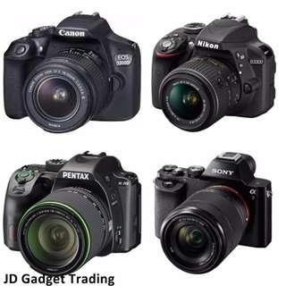 WANTED Kamera DSLR / Interchangeable