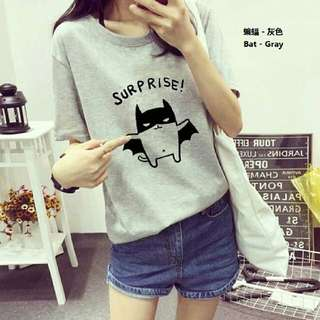 Grey Cotton T-Shirt