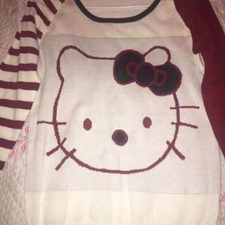 Hello kitty sweat shirt