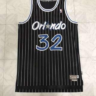 NBA 魔術客場 O'Neal 球衣
