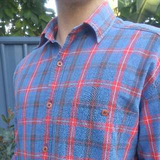 Country Road Mens button up Medium